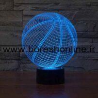 فایل لیزری بالبینگ سه بعدی توپ بسکتبال