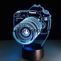 فایل لیزری بالبینگ سه بعدی دوربین کنون