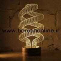 فایل لیزری بالبینگ سه بعدی لامپ کم مصرف