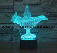 ۳d Alladdin Lamp
