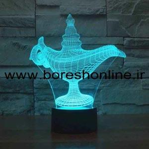 فایل لیزری بالبینگ سه بعدی چراغ جادو