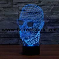 فایل لیزری بالبینگ سه بعدی سر انسان