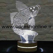 فایل لیزری بالبینگ سه بعدی ماهی