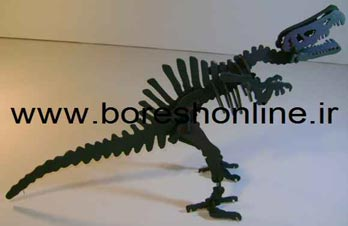 فایل ماکت دایناسور کوچک