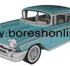 maket mashin Chevrolet Bel Air 1957