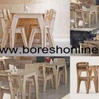 فایل میز و صندلی رستوران