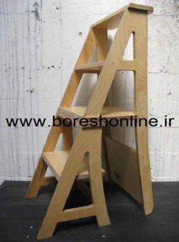 فایل نردبان چوبی