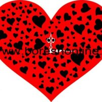 فایل کرل ساعت دیواری قلبی 3