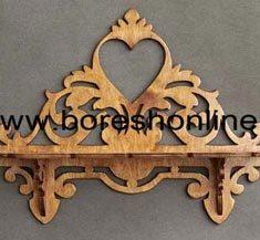 shelf divari tarh ghalb