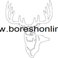 ۳ point buck dxf File
