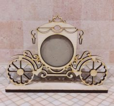 Cinderella Picture Frame Free Vector