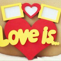 ghab aks tarh ghalb love