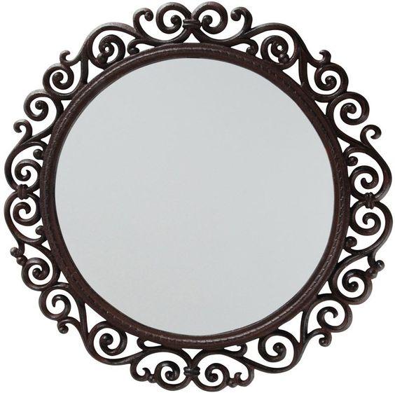 فایل قاب آینه دایره ای