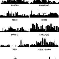 asian cities skylines