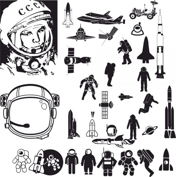 فایل کالکشن فضایی
