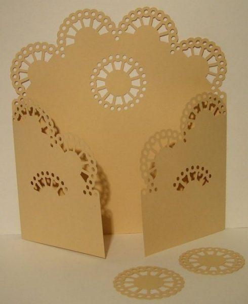 فایلکارت عروسی مقوا طرح زیبا 1
