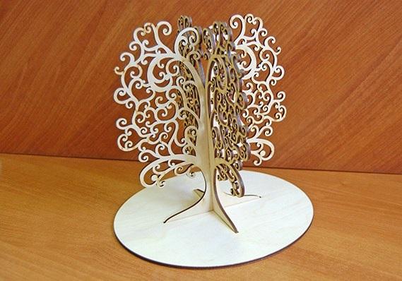 فایل ماکت درخت 3