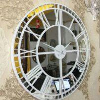 فایل لیزری ساعت دیواری آینه ای