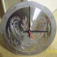 فایل ساعت دیواری طرح عقاب