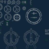 فایل ساعت رومیزی