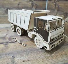 maket kamioon khak bardari