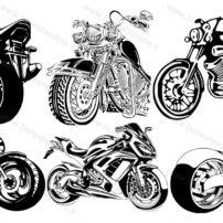 فایل لیزری موتور سیکلت