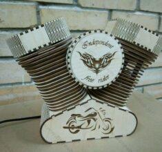 maket enjin motor