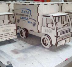 maket kamioon mdf