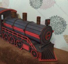 maket lokomotiv ghatar